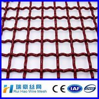 Best price 12*12 crimped wire mesh fenceing crimped mesh panels for sale