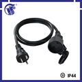 industrial equippment CEE male connector 3 pin plug european standard extension cord