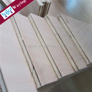 Eucalyptus core Okoume Face/back E0 Grade fire resistant plywood