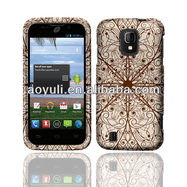 for ZTE N9511 case cell phone, magic brown lines case mobile phone for ZTE N9511