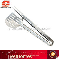 High Quality Kitchen Tongs Stainless Steel Food Clip Bread Clip Barbecue Clip BBQ Tools