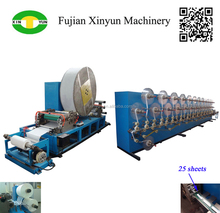 Exclusive design cigarette paper slitting and folding machinery