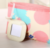Ladies simple design travel polyester makeup bag