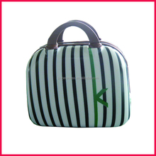 Selling high standard ABS hard case cosmetic bag, tracvel beauty cosmetic case makeup bag