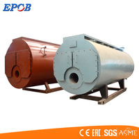 Horizontal Type Fire Tube Industrial Oil/Natural Gas Fired Wns Steam Boiler