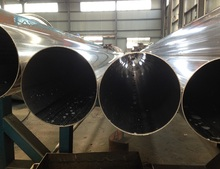 Popular Thin Wall Large Diameter Tube 202 Seamless Welded Stainless Steel Pipe