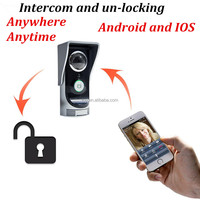 WIFI door bell ring with camera,wiless door bell for android and Iphone