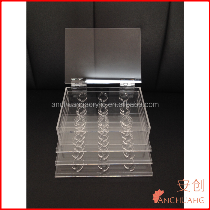 Acrylic Eyelash Display Case/Eyelash Extension Holder- Customized Eyelash Ring Size