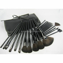 Factory Price Cheapest Synthetic Hair 24pcs Makeup Brush Sets for Girls