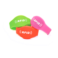 Factory passive Disposable Festival RFID Wristband with NFC chip