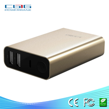 Promotion gift 13000 big capacity power bank Best selling with double USB output portable mobile charger