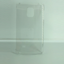 PC transparent shinny factory supply cover phone
