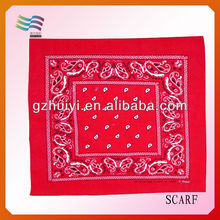 Promotional 100% Cotton Square Bandana