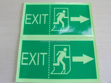 Luminous Fire Safety Emergency Exit Sign