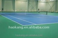Thickness 4.0mm Vinyl Tennis Court pvc Sports Flooring