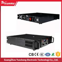 8 ohms 2 speakers professional d class amplifier