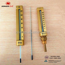 Best sale temperature instruments glass tube level pressure gauge