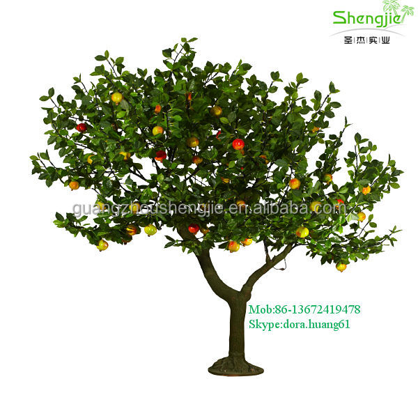 China make SJD19 outdoor led artificial tree lights artificial led trees fruit christmas tree decoration light