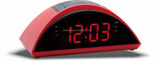 Good Quality Hotel Red Display Novelty Digital Dual Alarm Clock FM Radio