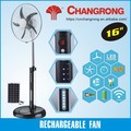 Emergency stand fan high speed fan with battery remote control fan