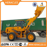 heracles brand yellow color wheel loader ZL30