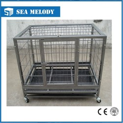 durable dog cage with wheels