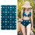 Chinese Print Swimwear Fabric Women Polyester Spandex Fabric