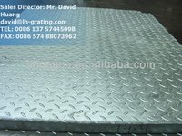 galvanized compound steel grating, galvanized checker plate floor