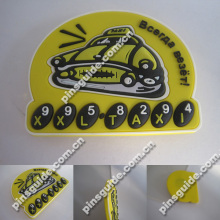 Wholesales Personalised Car And Numbers Soft PVC 3D Souvenir Fridge Magnet