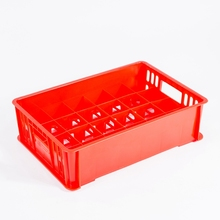 Glass Container Standard Size Drinking Plastic Storage Crate