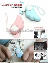 Self defense products personal alarm Fashion Mobile Phone Chain
