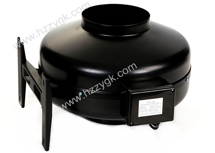 Small Inline Centrifugal Fan : Good performance small size portable round metal inline