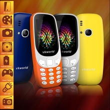 Hot Selling Color Display and Bar Design Basic Mobile Phone 2.4 inch 3D Screen VKworld Z3310 Feature Phone 1450mAh Battery