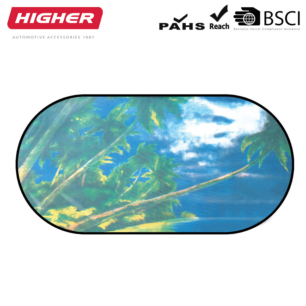 HD3005-7 High quality rear side car rear window sun shade