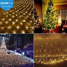 CE ROHS led maple christmas tree net light for tree