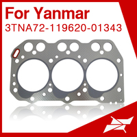3TNA72 head gasket for Yanmar tractor mini excavator engine parts