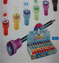 different patterns of pupils' toy stamp for pensil