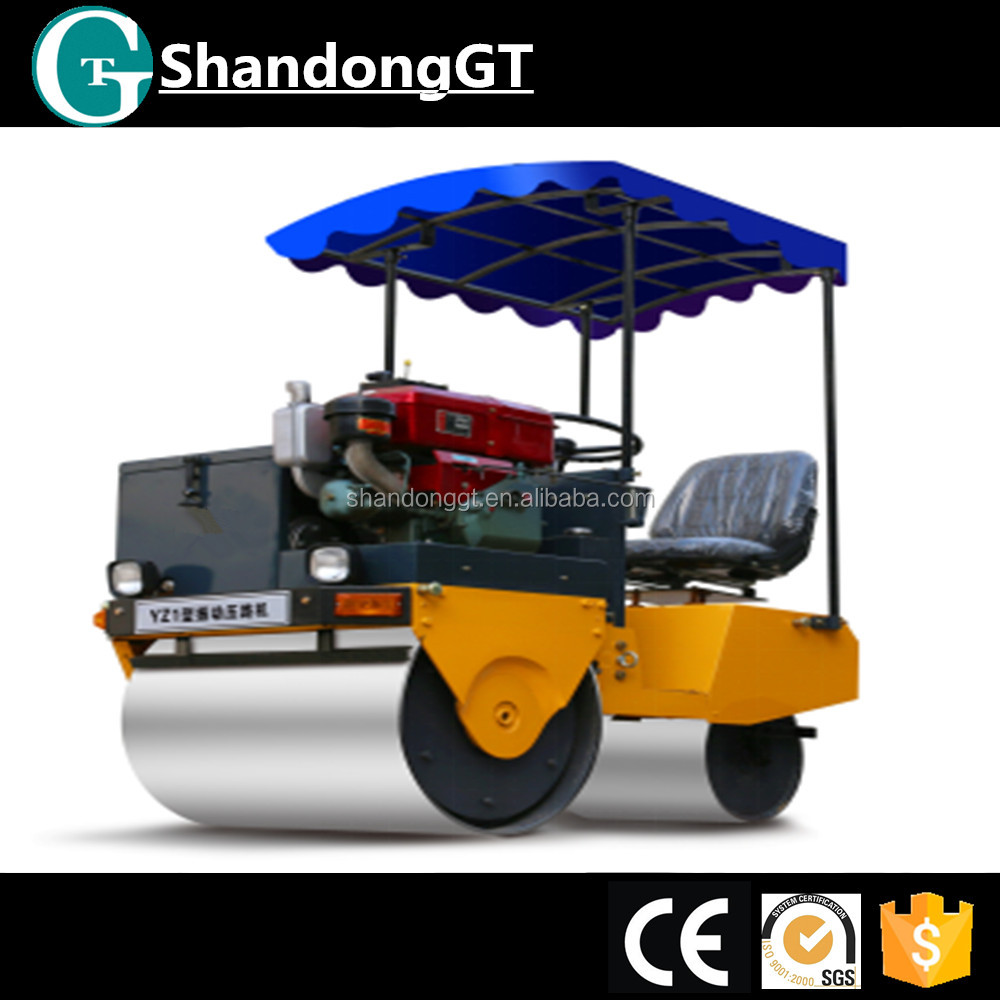 Factory price weight of used asphalt road rollers for sale YZ1