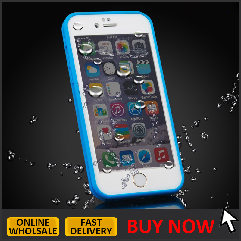 hot selling ultra thin TPU waterproof Case for <strong>iphone</strong> 6s, for <strong>iphone</strong> 6 waterproof phone case