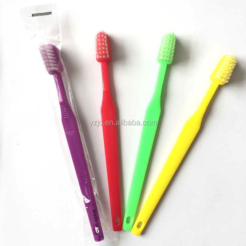 Top quality one-time use 2 toothbrush for adults