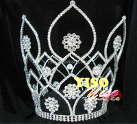 jewelry ornaments bridal pageant crystal custom king crown