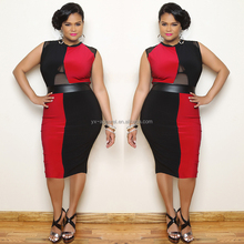 womens plus size dresses sexy fashion bandage dress womens clothing xxxl