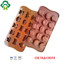 silicone personalized ice cube tray cake chocolate molds polycarbonate australian animal ice cube tray