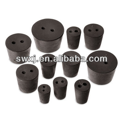 Adhesive Rubber Stoppers/pipe plug for bottle