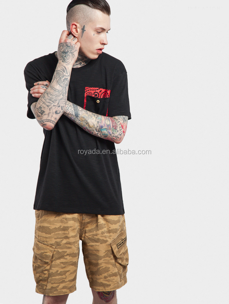 Casual Style Fashion Wholesale Mens T Shirt High Street