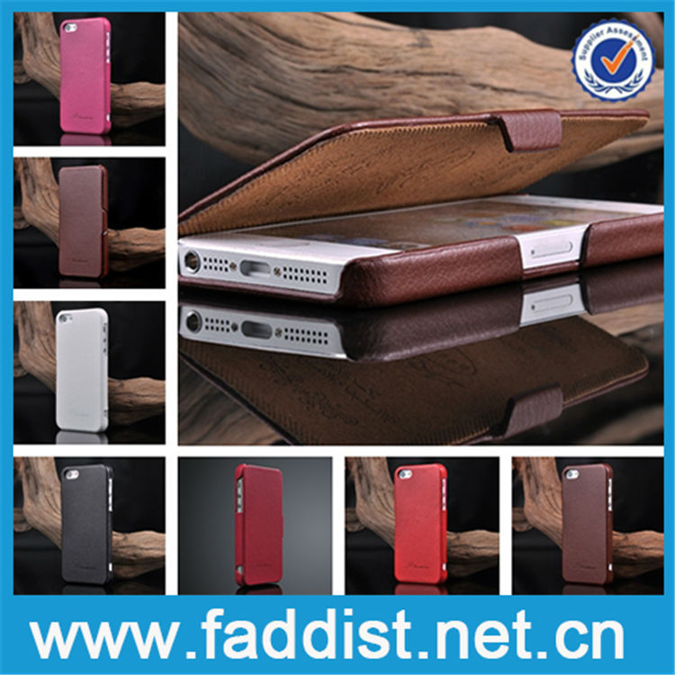 Best selling Genuine leather cell phone case for apple iphone 5s