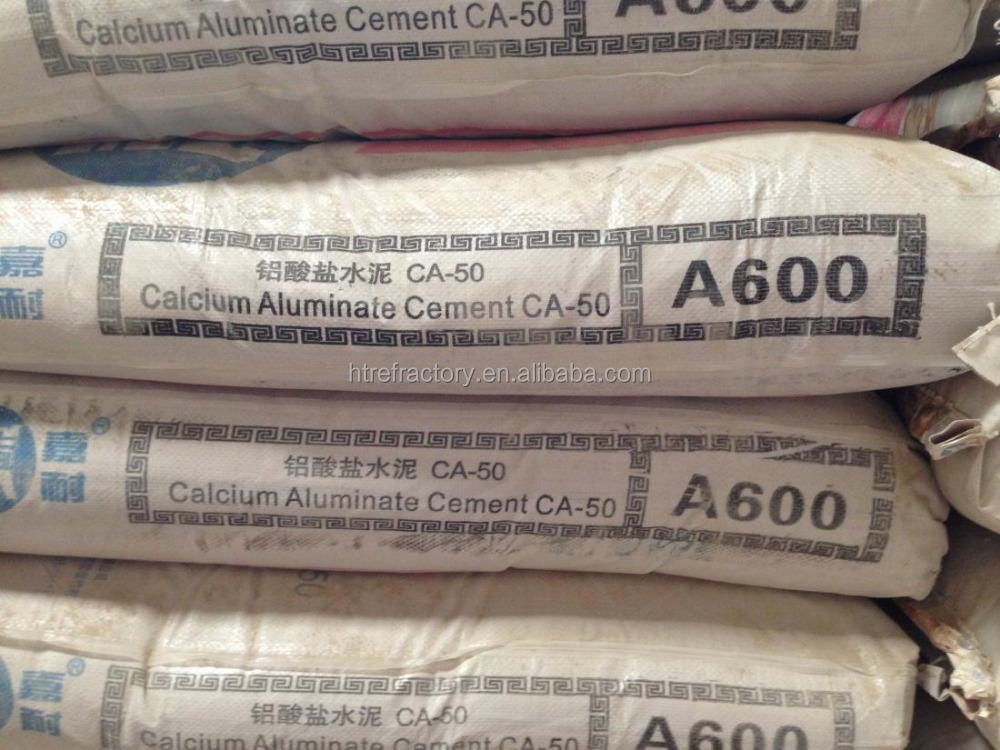 Good Performance High Alumina 3000 degree refractory cement