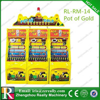 Pot of Gold coin pusher game machine