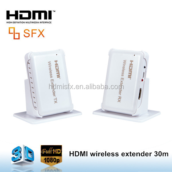 2016 Newest Wireless HDMI Transmitter and Receiver Full HD 1080P Video wireless hdmi Extender