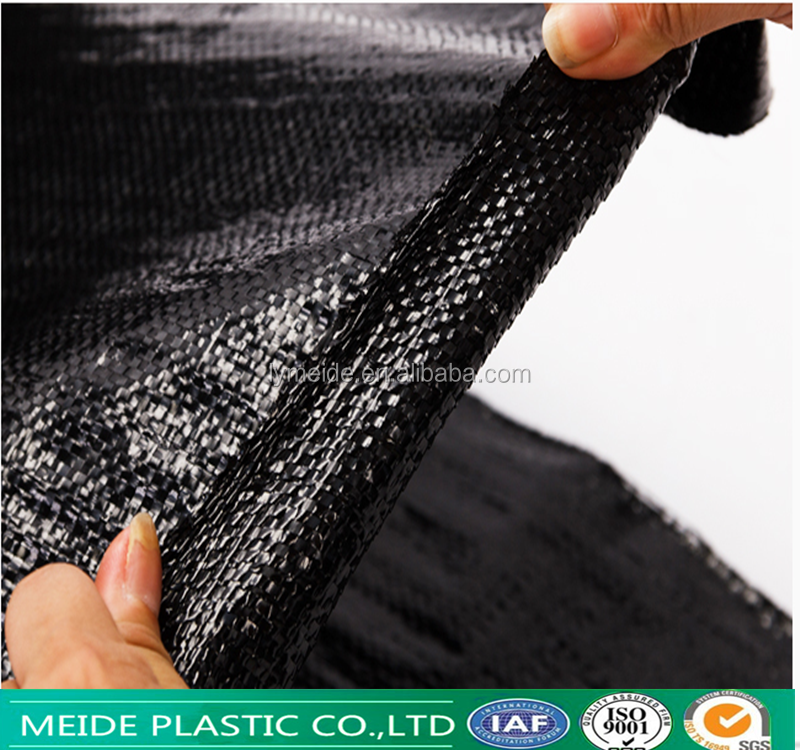 Good Permeable Plastic Woven Mulch Weed Mat Fabric for Organic Vegetable in Greenhouse